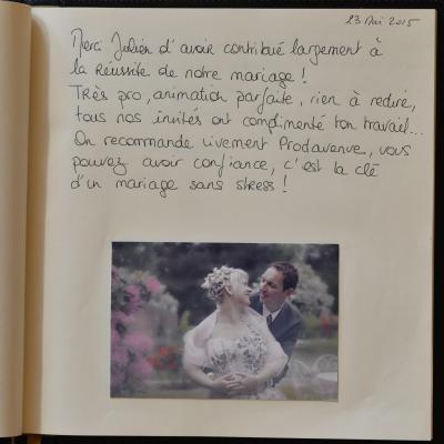 Adeline & Arnaud - 23 Mai 2015